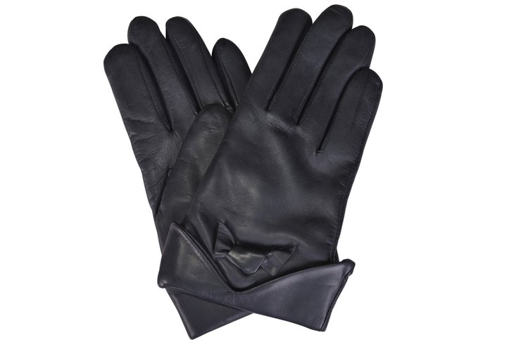 a990296f4 Wool Lined Italian Soft Graphite Leather Gloves — Bags & Arts