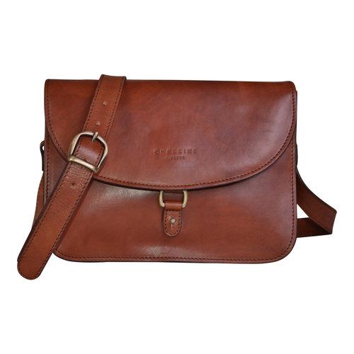 96badc80d3c0 Classic Italian Style Brown Leather Crossbody Bag — Bags   Arts