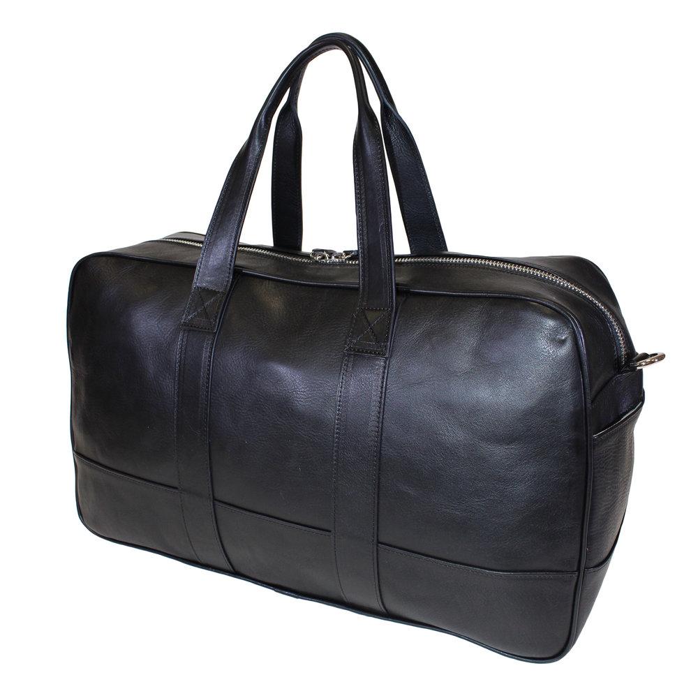 a68f62f91ce Terrida 'Bellini' Luxury Italian Leather Large Travel Bag — Bags & Arts