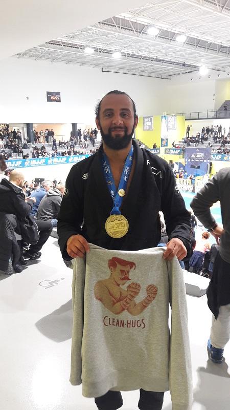 "Eric ""Eco"", champion d'Europe"
