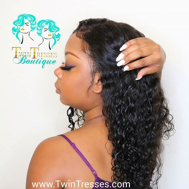 Deep Body Wave 😍😍, the Damariss Unit. #letskeepitclassyshallwe #twintresses_boutique #wigs #stylist #atlwigs #hairreplacementsystem #wiglife #beautifulwig #noglue #qualitywigs #cutehairstyles #getthelook  #curlywigs #wavywigs #protectyouredges #healthyhair