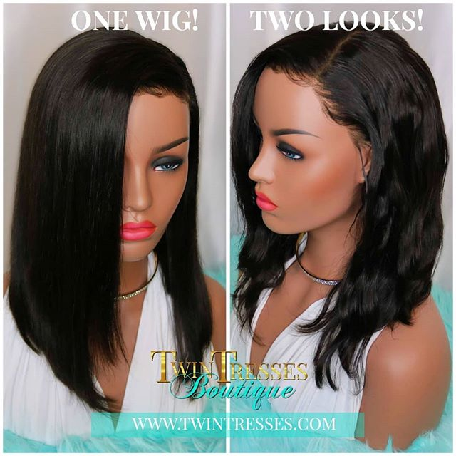 Selena will be added to our website tommorow! This unit is the best of both worlds because you can wear it straight or wavy! This unit is easy to wear as it is a glueless unit. It also is very easy to maintain which is perfect for beginners! . . Follow our page and turn on the notification so you can be the first to know when she is available. . . Tag a boss lady who needs this unit!❤️ . . #letskeepitclassyshallwe #twintresses_boutique #classy #bobwig #gluelesslacewig #bestwigs #humanhairwig #bobhairstyles #wigunit #wigsforwomen #hairreplacementsystem #atlwigs #naturalhairline #protectivehairstyles #healthyhair #ilovewigs #entrepreneur #smallbusiness #womanownedbusiness #shorthairwigs #wavywigs #straighthairwigs