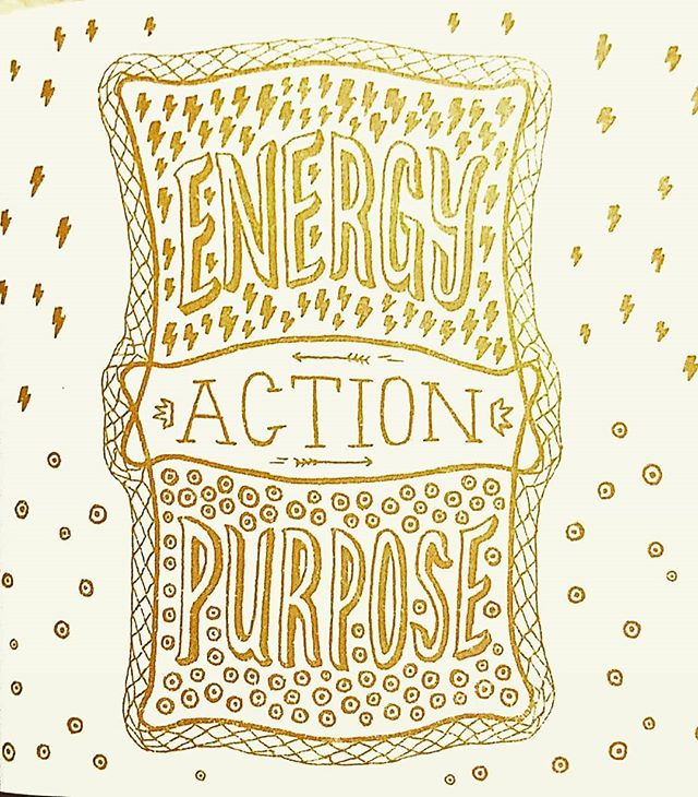 Three things to get you through your day:  Energy. Action. Purpose. #AttitudeOfGratitude #30DaysOfThanksgiving #30DaysOfThanks #ThirtyDaysOfThanks #ThirtyDaysOfThanksgiving