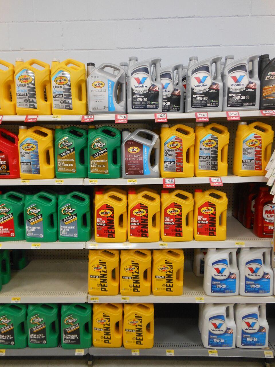 Store #582 Product Shelf