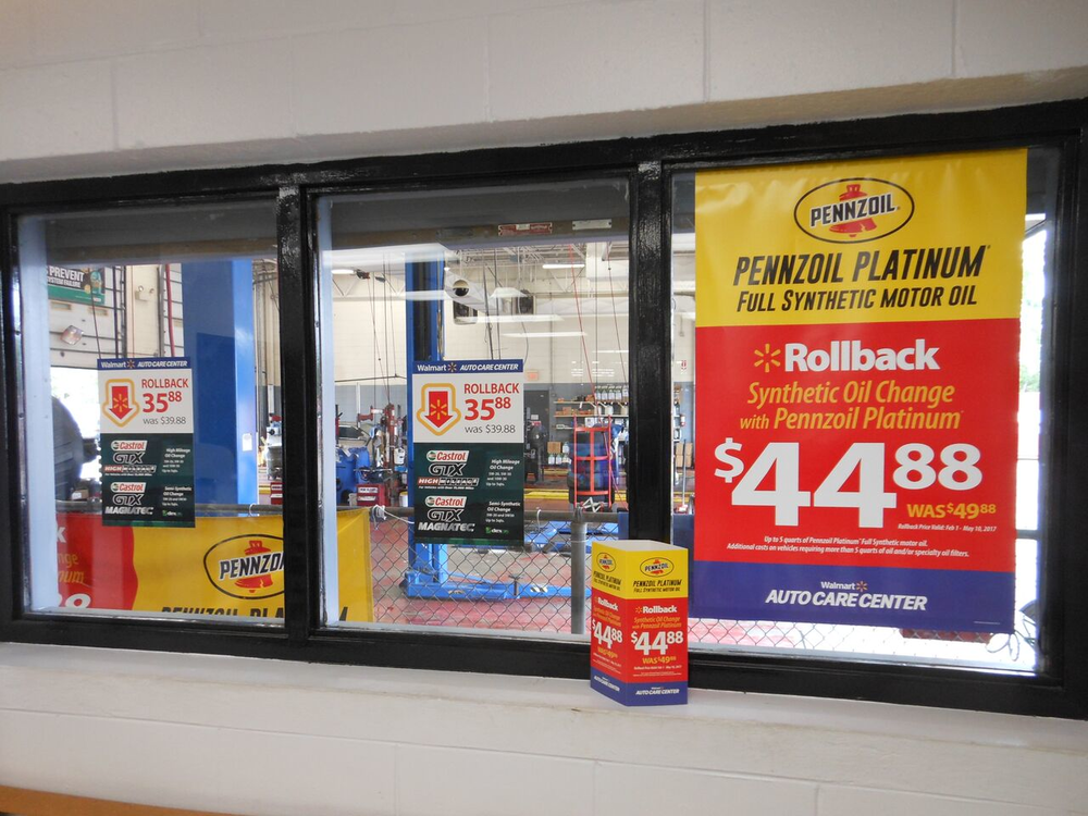 Store #613 Window Placement