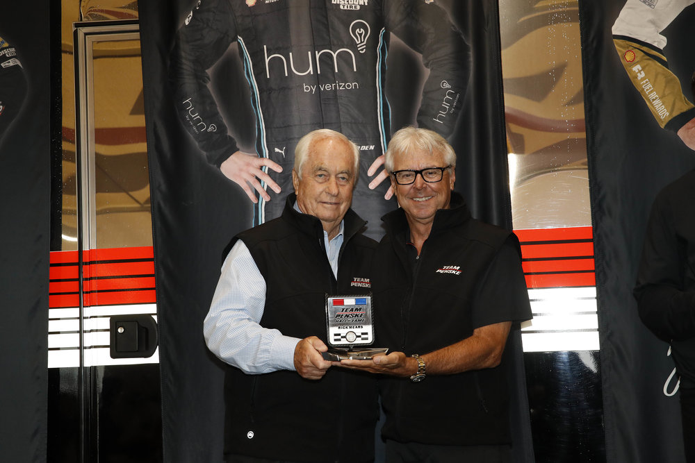 Rick Mears Gets Inducted into the Team Penske Hall of Fame