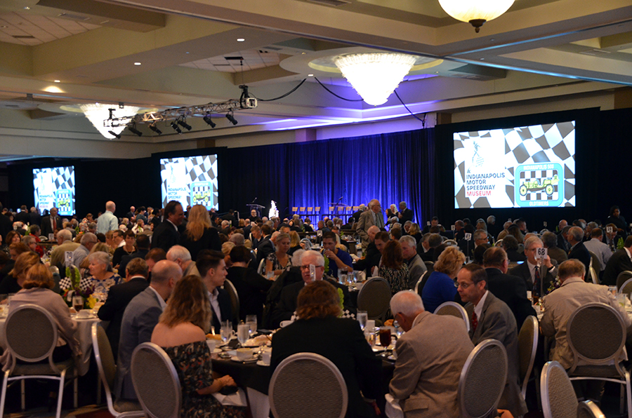 780 guests gathered together Thursday May 26, 2017 to hear from motorsports legends at the Hall of Fame dinner. Our guests and influencers were in attendance.