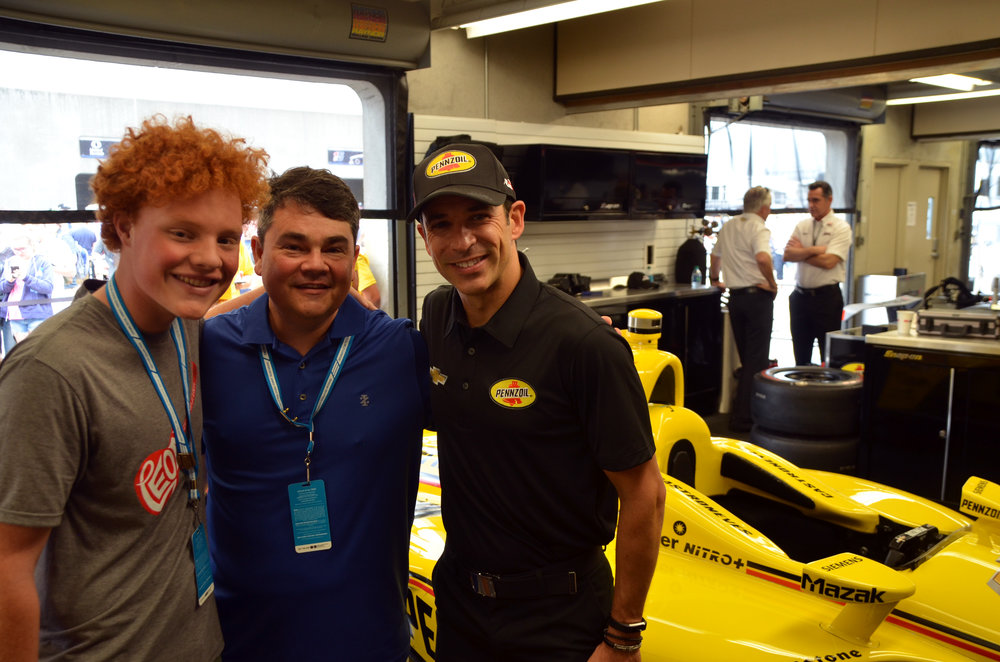Shell continues to reward loyal users with exclusive experiences and savings. The Indy 500 was one of three experiences in 2018 that Gold+ Fuel Rewards members could win.