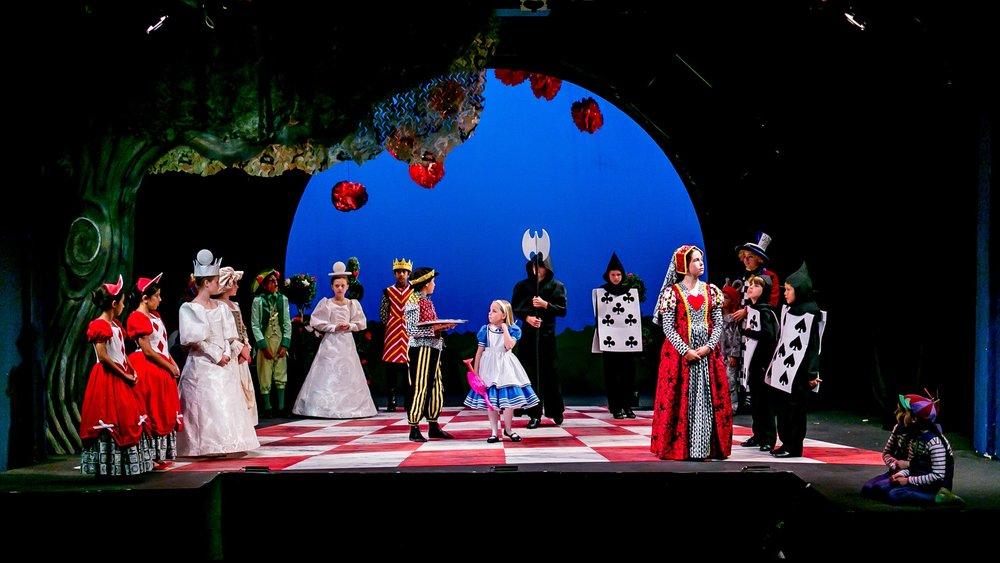 Alice stage scene
