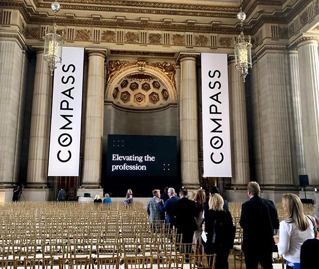 Fun fact! Just learned that SF-based architect Arthur Brown Jr designed the Andrew W Mellon Auditorium in DC where we held our @compass event last night AND he designed a spectacular listing I have coming up in SF soon. Want the scoop? Message me.