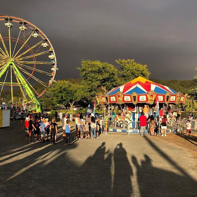 Marin County Fair...illuminated. #marincountyfair #marincounty #light #countyfair