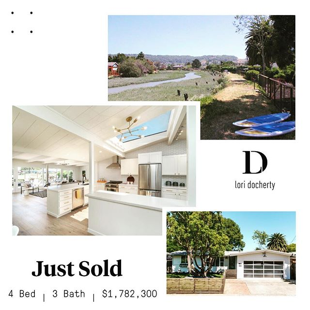 """Congrats to my wonderful clients who have just closed on their first family home. They had lost out on two other properties in multiple offer situations over the past year, but when they saw this sweet home in Corte Madera they shared it had been worth it because this home was everything and more than they had hoped for.  We seized an opportunity and went in with a solid preemptive and were successful.  Helping families find their place in Marin is my """"sweetspot,"""" and this success was especially meaningful to me. #compasseverywhere #realestatelife #marinrealestate #cortemaderahome #firsttimehomebuyer #cortemadera"""