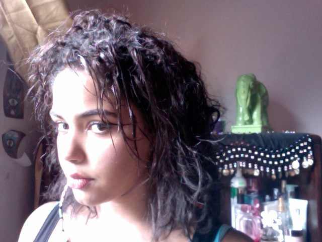 2012 - Cut my hair, and my curls were literally no where to be found.
