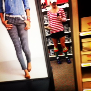 Only the most basic of bitches take selfies in Target mirrors.