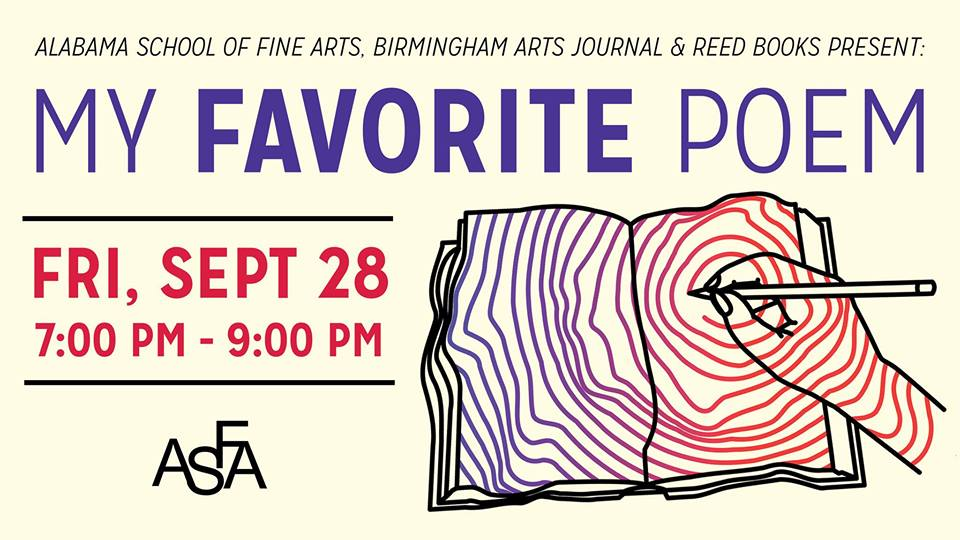 The 14th Annual My Favorite Poem Reading Alabama Writers