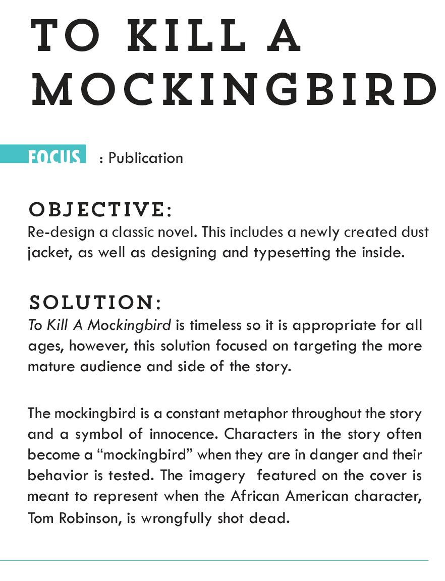 metaphors in to kill a mockingbird