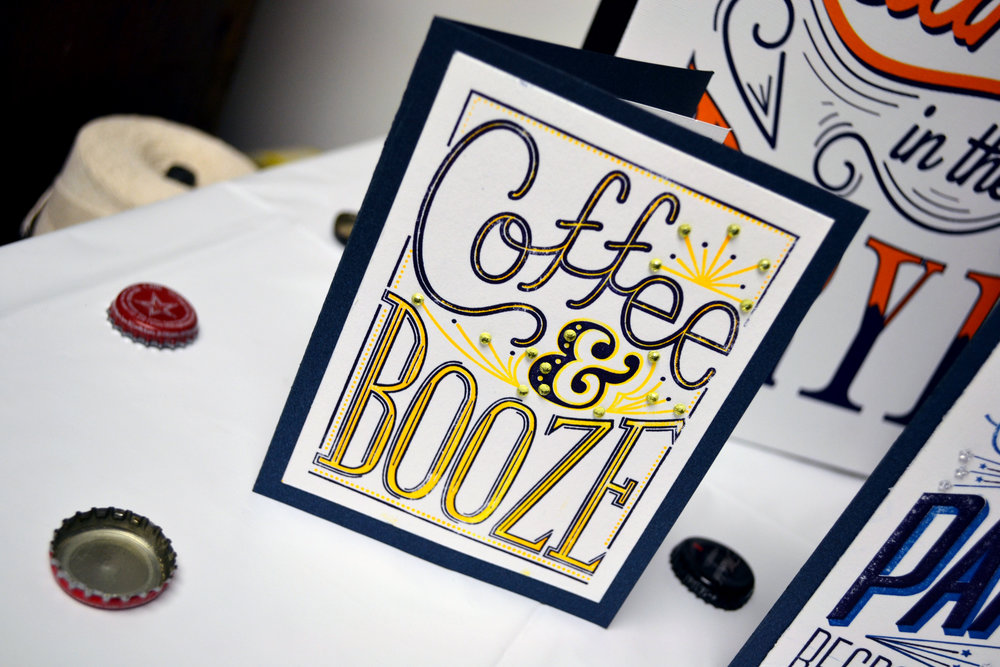 Coffee & Booze Card