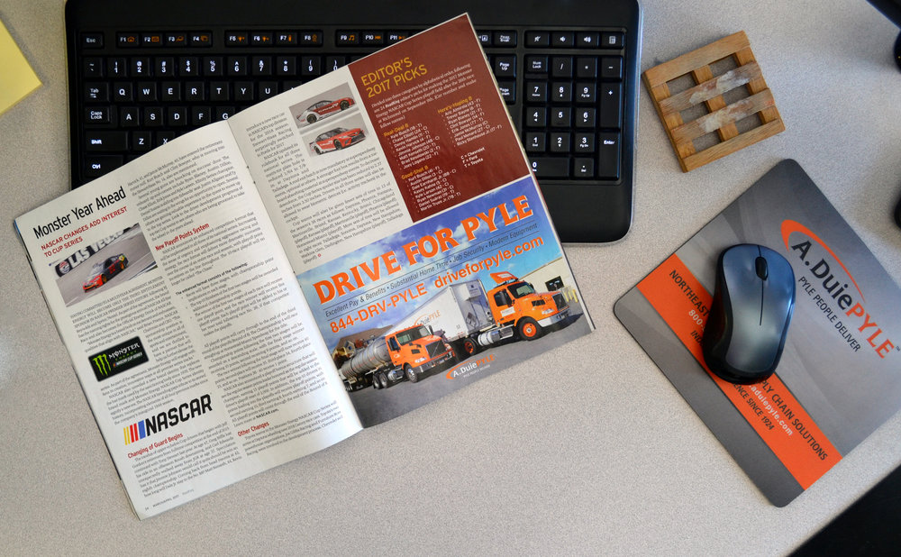 Recruiting advertising in Road King Magazine