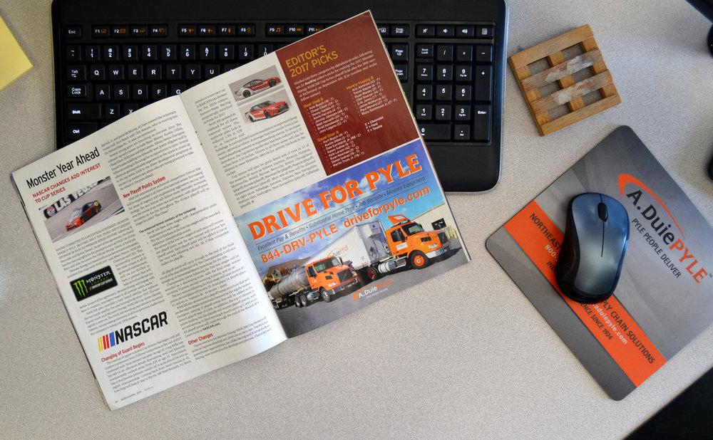 Recruiting advertising in Road King Magazine