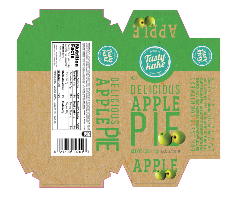 Apple Pie Packaging Redesign