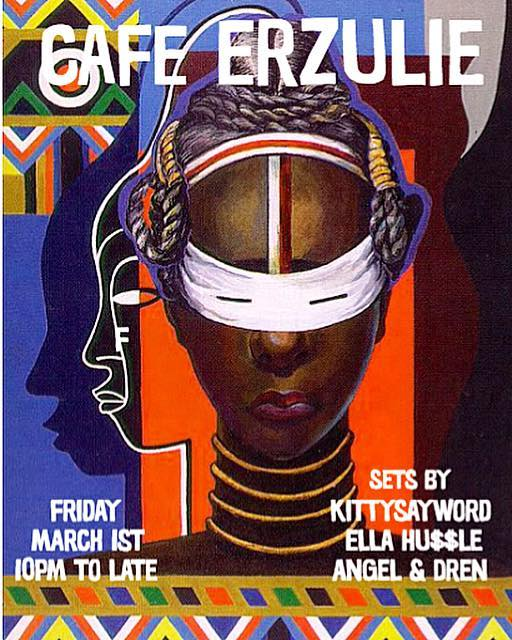 Tomorrow, we re kicking off Women's History Month with an all female line-up. We re super excited to have this group of talented DJ's with us! They don't play! Come through and shake your 🎂.