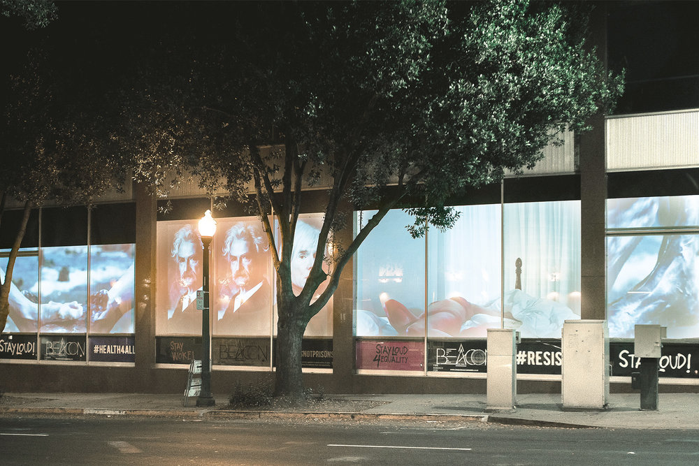 BEACON: Sacramento Video Installation