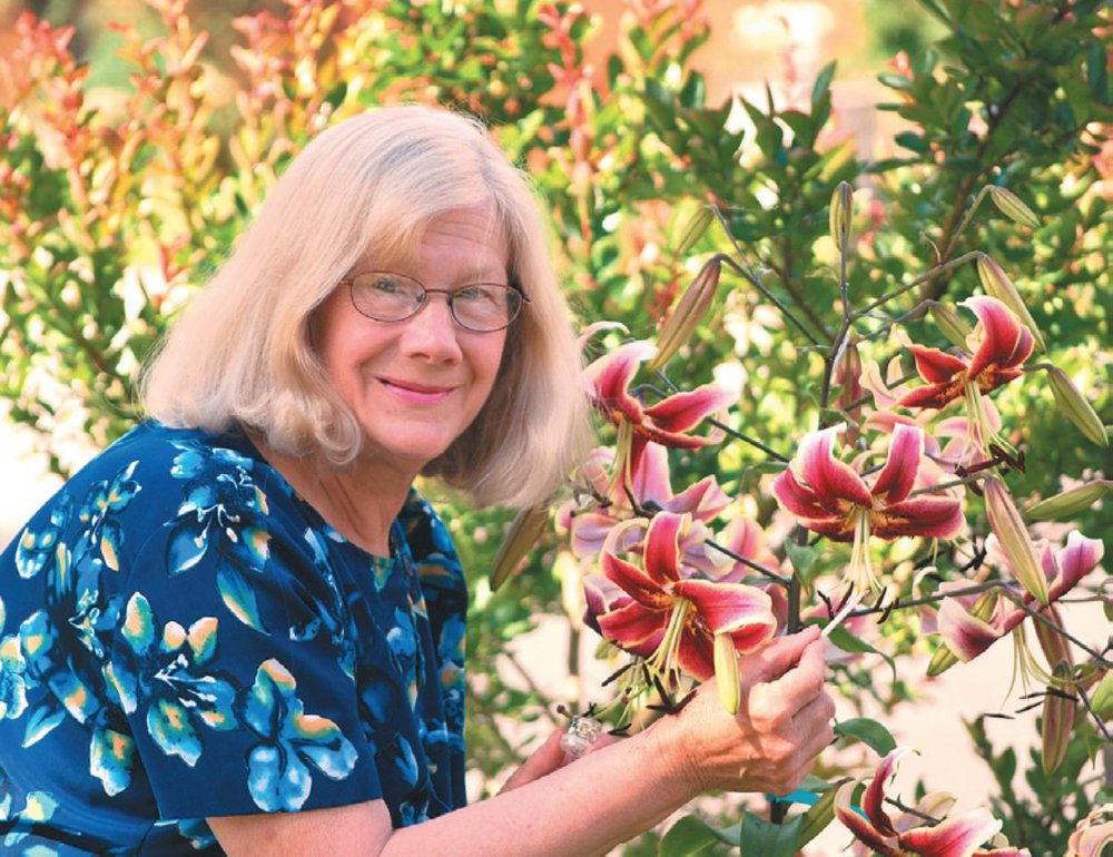 Judith Freeman, geneticist and lily hybridizer.