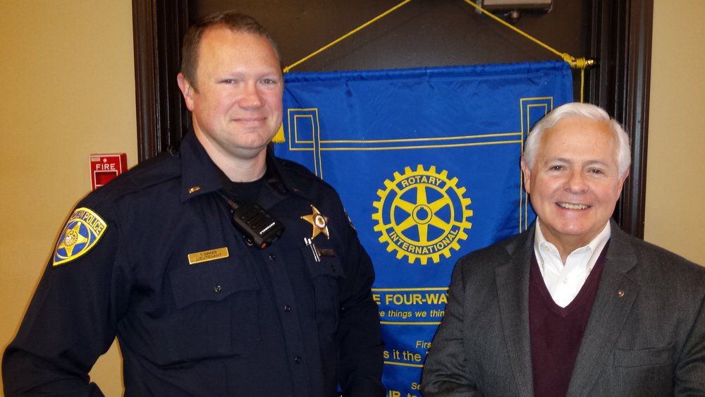 Upkes and Mannix at East Salem Rotary