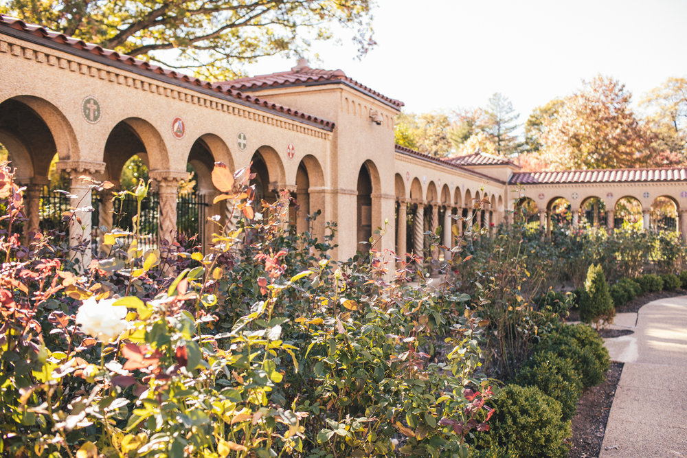 The Great Outdoors   Franciscan Monastery  44 Acres of Gardens