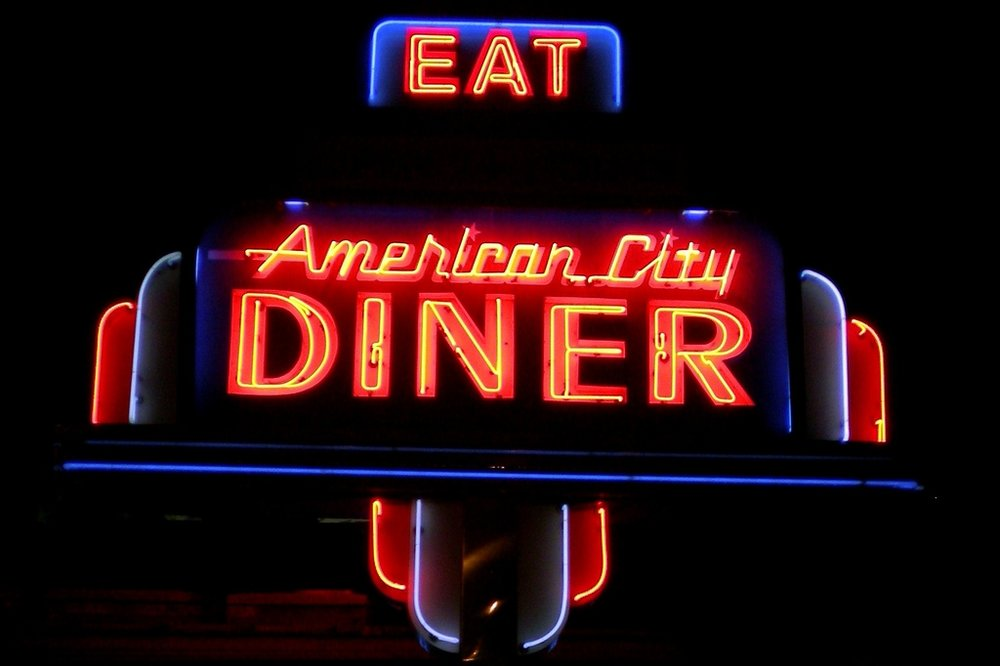 Eat/Drink  American City Diner Arucola Blue 44 Buck's Fishing & Camping Parthenon