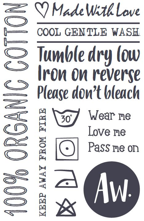 Wash care label.JPG