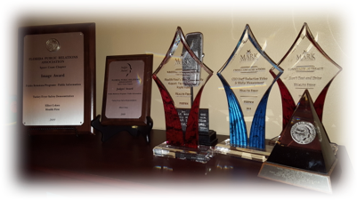 Multiple awards for both Positive PR and Crisis Management
