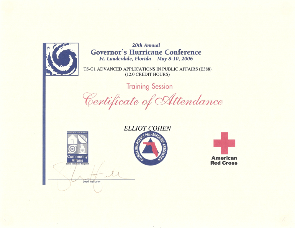 Elliot Cohen ADV PA Certificate.png
