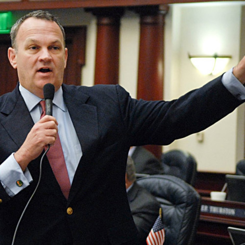 Florida House Speaker Richard Corcoran - Home Rule Opponent