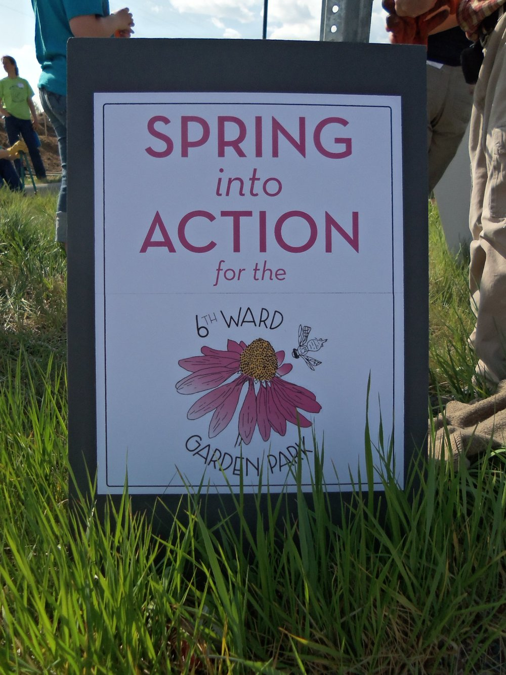 Spring Into Action at the 6th Ward Garden Park!