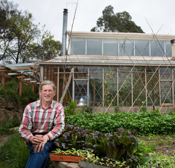 Dave Holmgren  -   Dave was one of Mollison's early students and is considered a co-originator of permaculture.