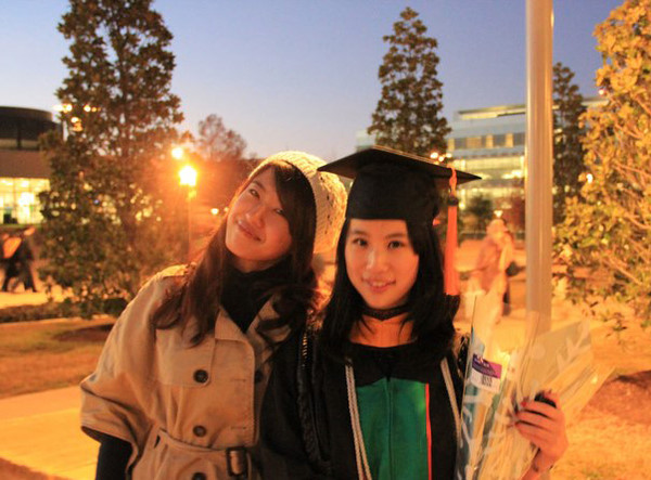2011 - Catherine's graduation in Dallas