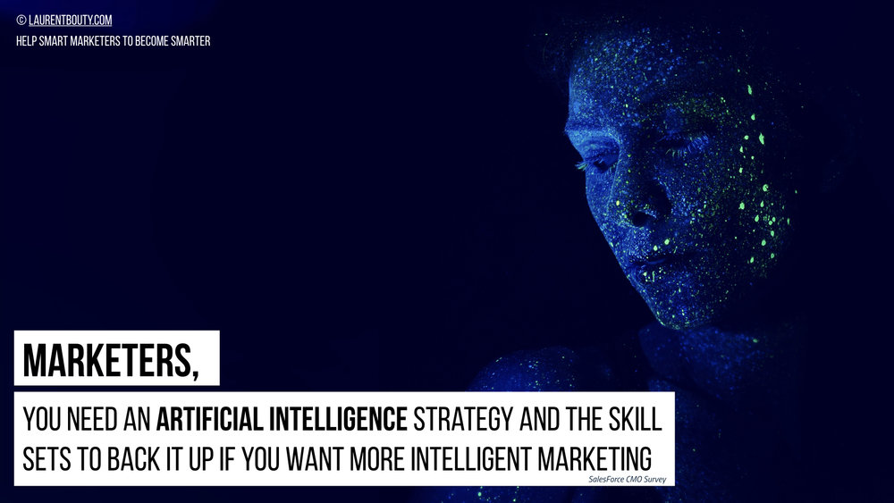Marketers you need an AI Strategy
