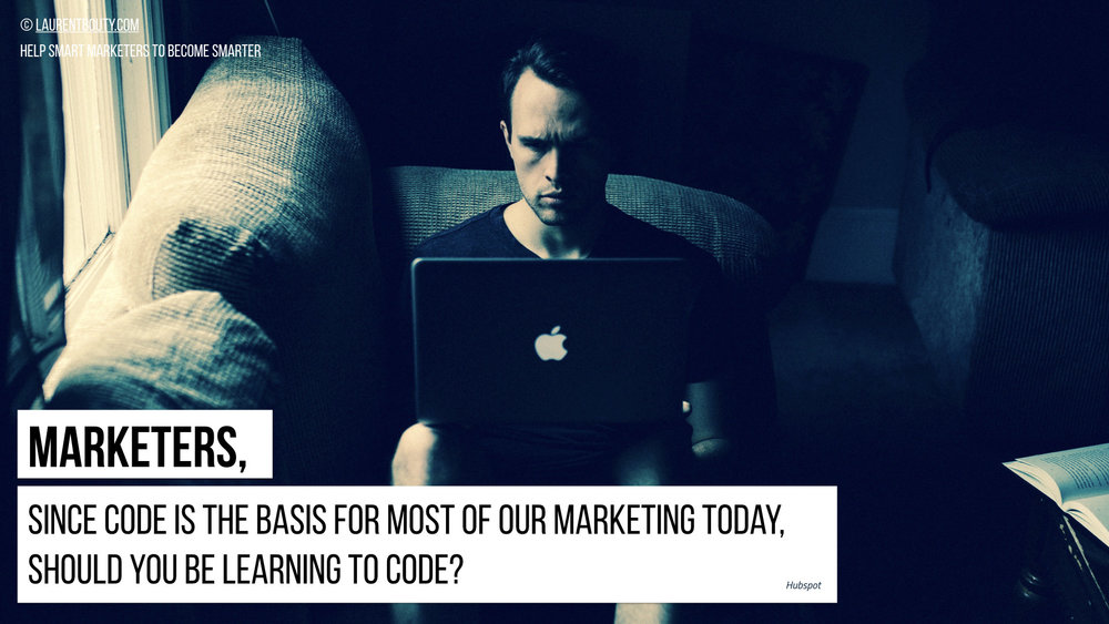 Marketers Should You be Learning To Code