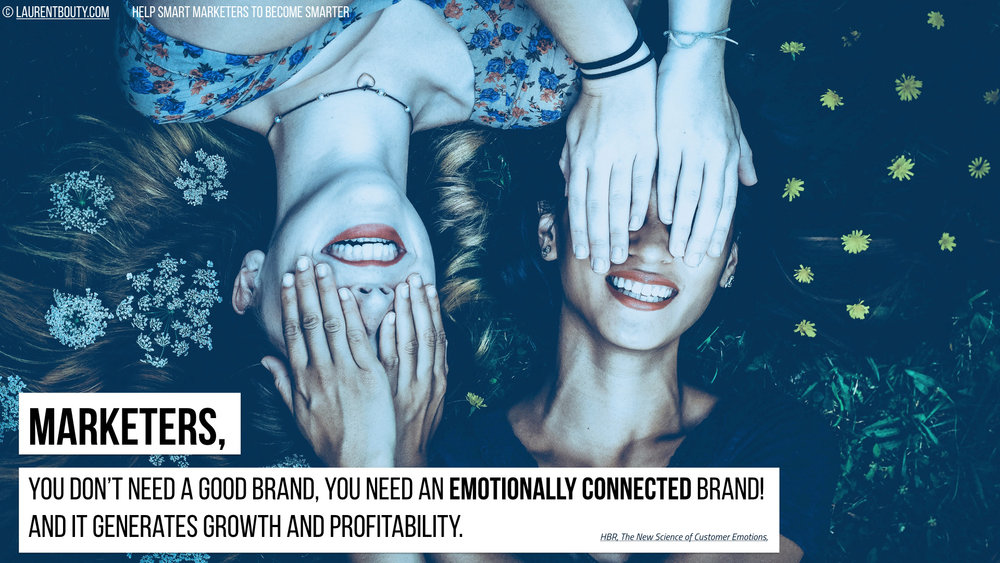 Marketers, You Need An Emotionally Connected Brand