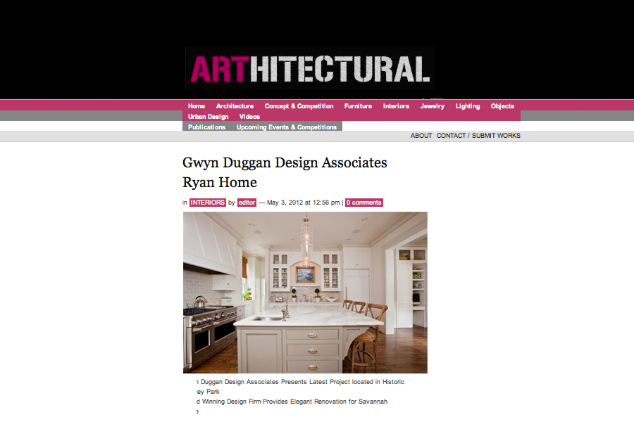 Arthitectural, Gwyn Duggan Design Associates | Ryan Home