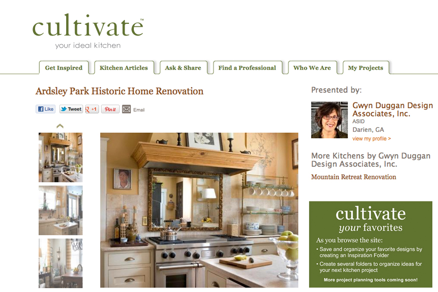 Cultivate ARDSLEY PARK HISTORIC HOME  Renovation