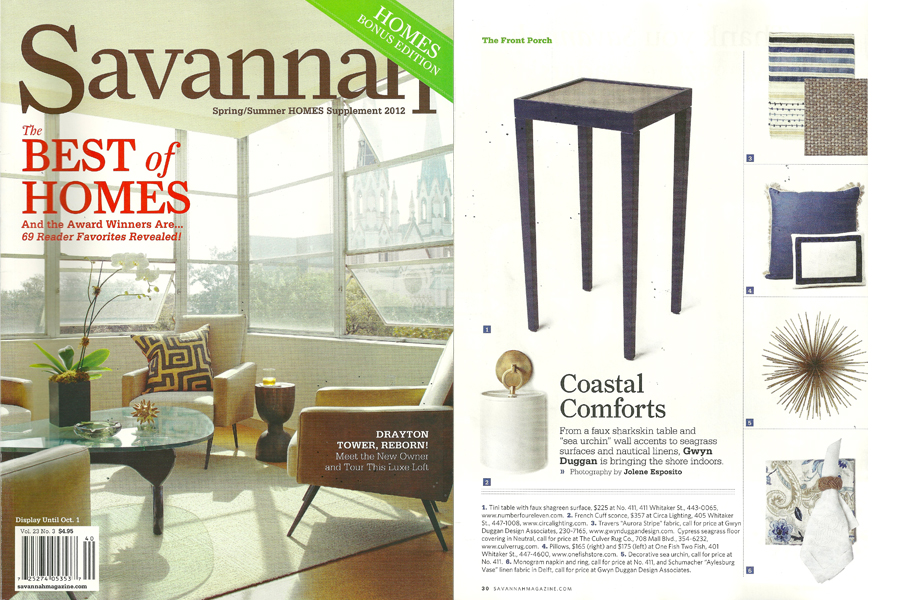 Savannah Magazine Spring/Summer 2012