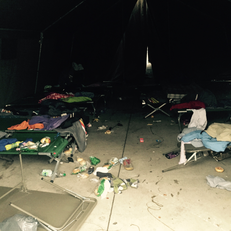 1. Inside Tent
