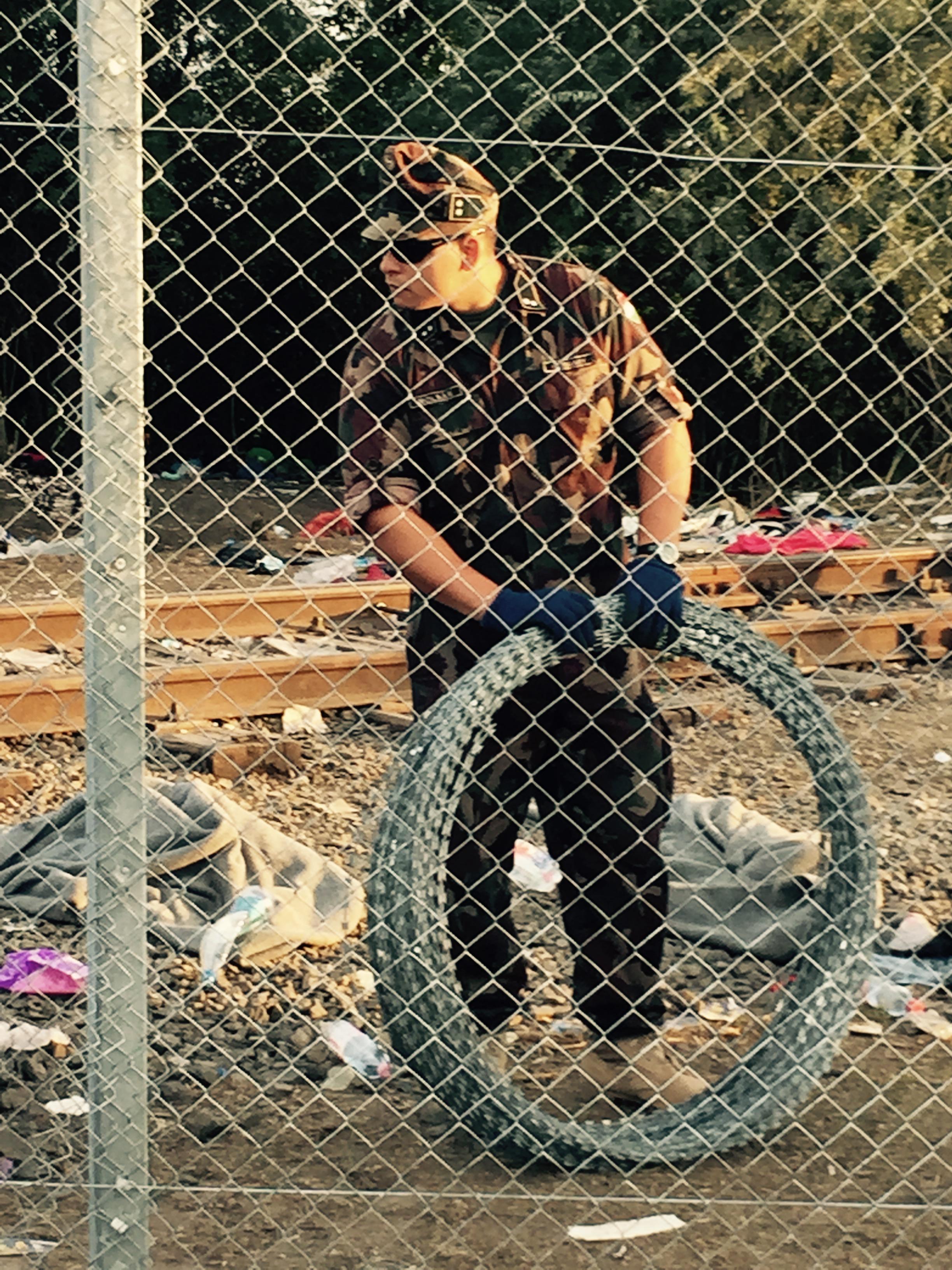 1. Razor Wire