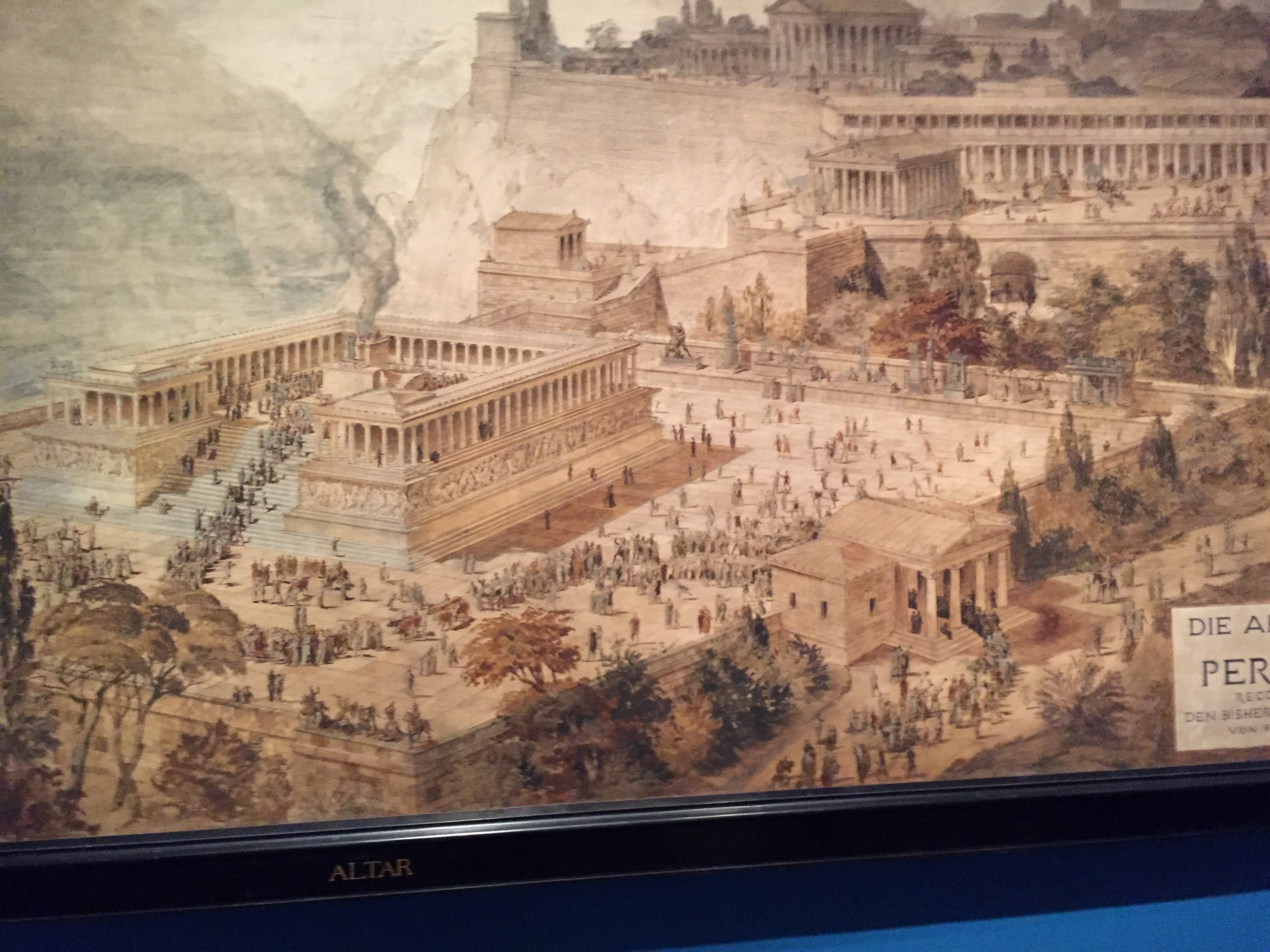 The Altar at Pergamon (Met Exhibit)