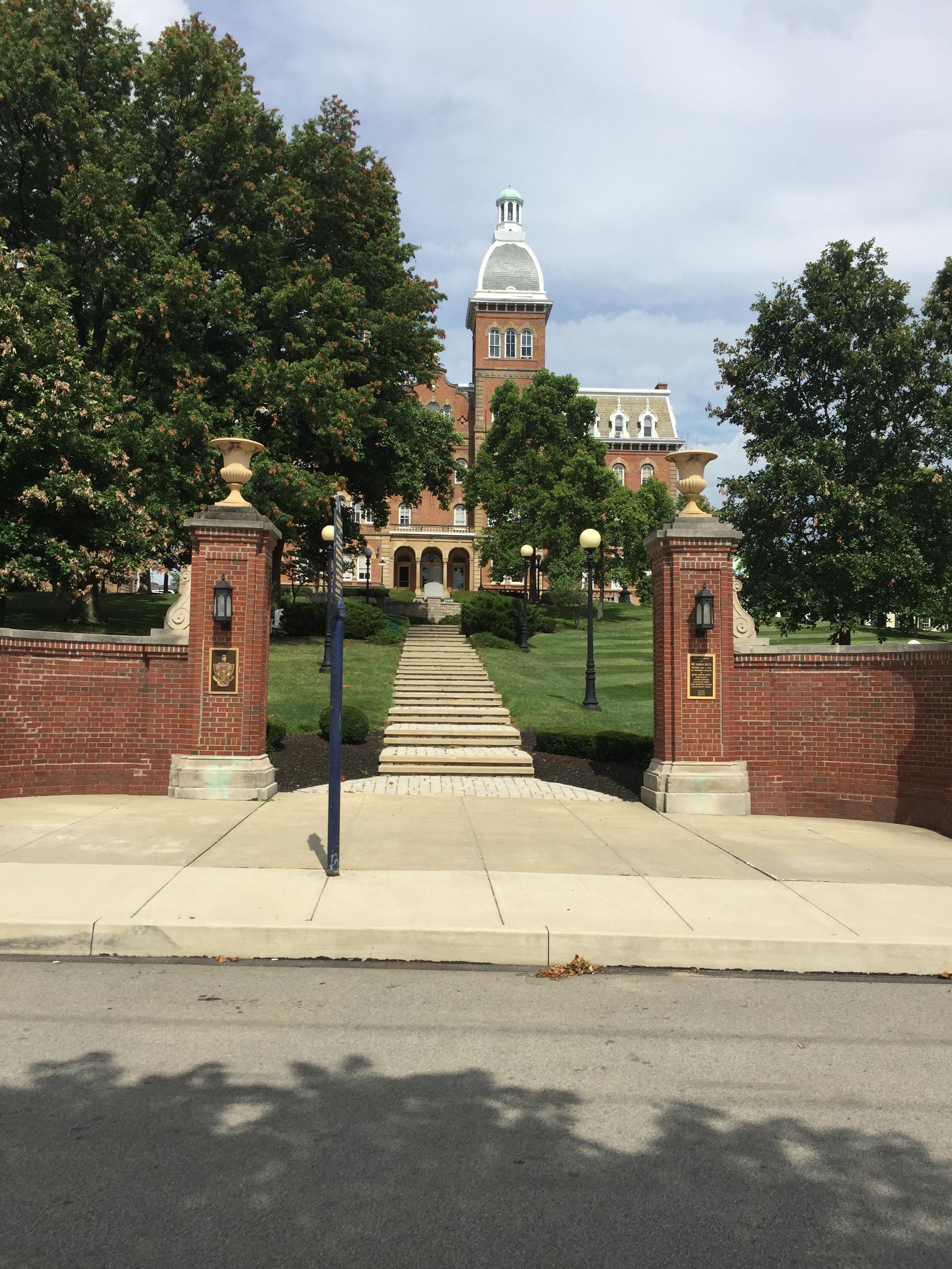 Old Main, Washington and Jefferson College, Washington, Pa.