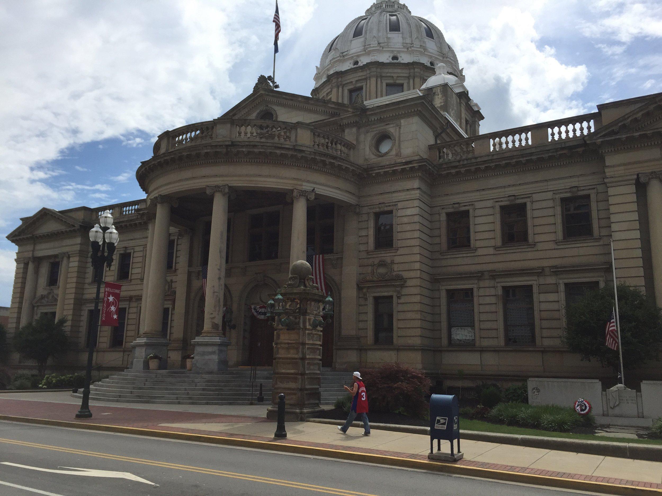 Washington County Courthouse, Washington, Pa.