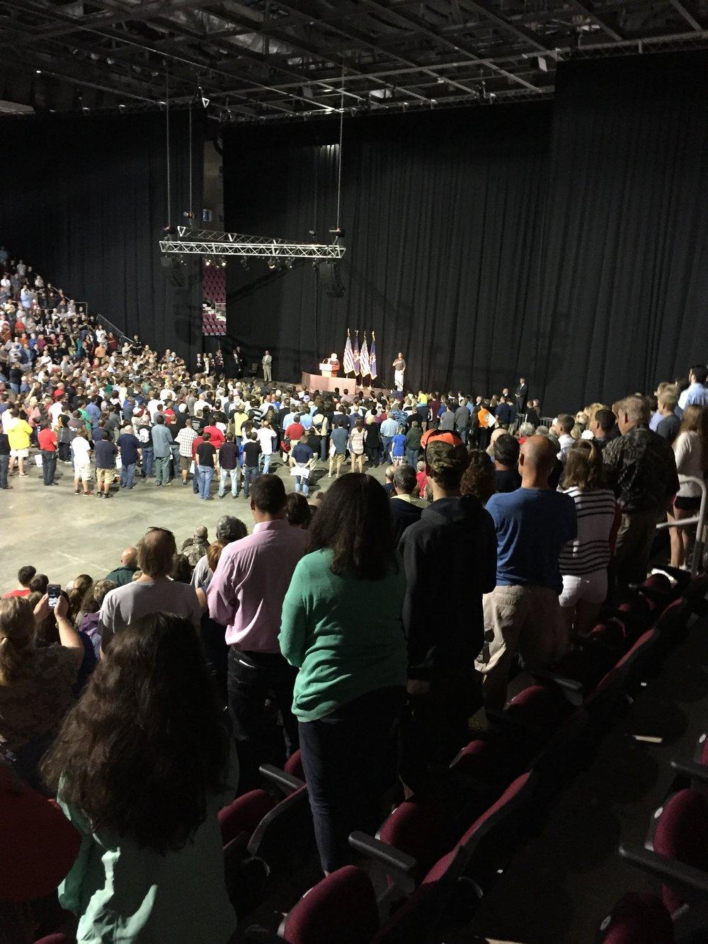 Trump Rally in Bangor, ME
