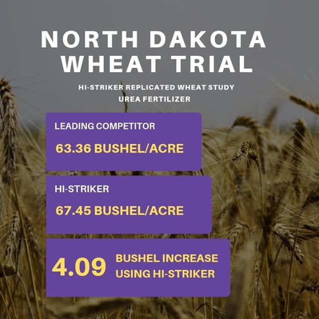 2018 Wheat trials are rolling in.  Another example of how we shape up against the competition in the marketplace!
